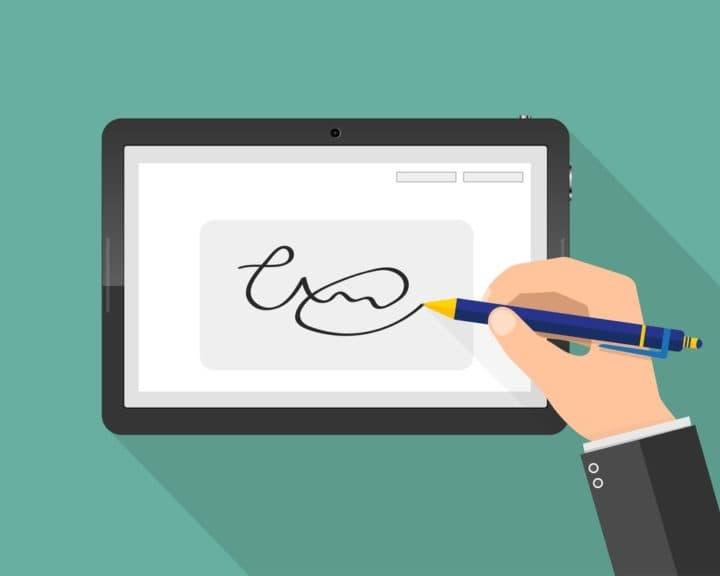 como assinar documentos digitalmente