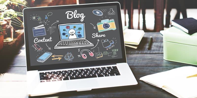 Criar um blog sobre diversos assuntos