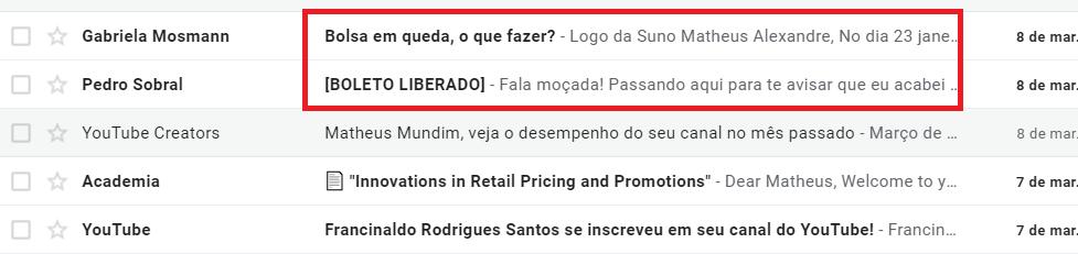 Marketing Digital: Exemplos - Email Marketing